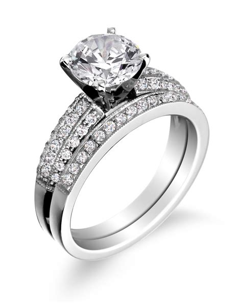 wedding ring placement wedding favors set blue nile engagement ring and band placement wedding jewelry