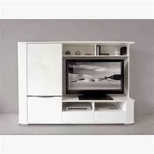 Meuble Tv Pour Chambre : combinaison meuble tv rangement meuble oreiller matelas memoire de forme ~ Teatrodelosmanantiales.com Idées de Décoration
