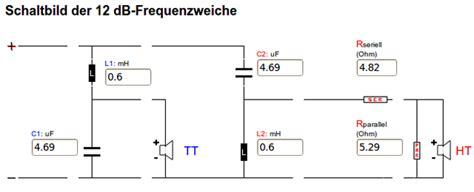 trennfrequenz berechnen frequenzweiche    wege