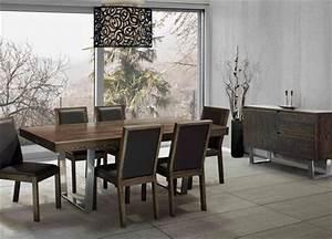 jc perreault salle a manger contemporaine canadel With salle À manger contemporaine avec mobilier de salle À manger contemporain
