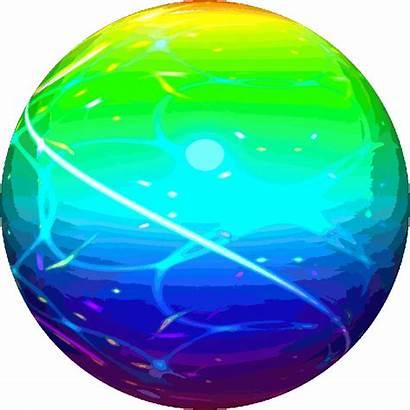 Sphere Rainbow Colour Animated Sticker Giphy Mega