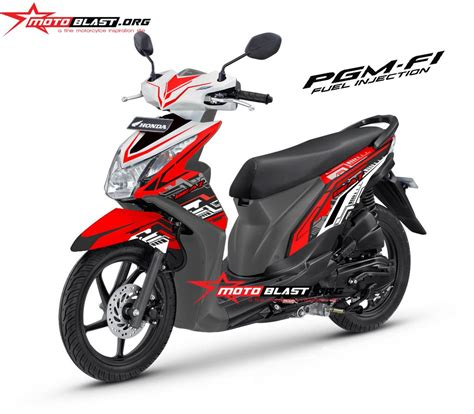 Modifikasi Beat Fi by Modifikasi Motor Matic Beat Fi Techno