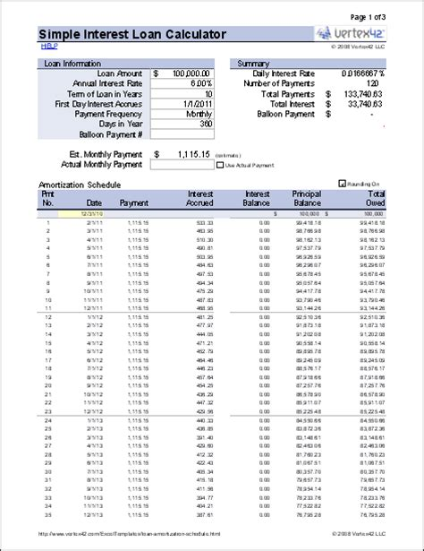 excel retirement spreadsheet free simple interest loan calculator for mortgage and