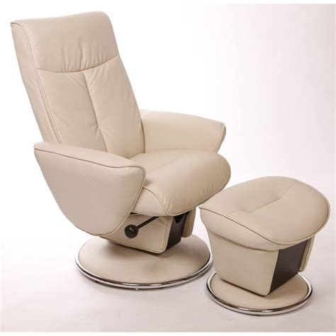 glider recliner with ottoman relax r snow bonded leather swivel glider recliner with