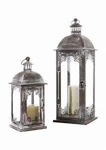 Große Laterne Windlicht : laterne aus metall in 2 gr en online kaufen otto ~ Markanthonyermac.com Haus und Dekorationen