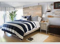 Nautical Master Bedroom Makeover & How We Found Our Shared
