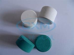 Tcca Tablets Prduced By Tablet Press   Pill Press Machine
