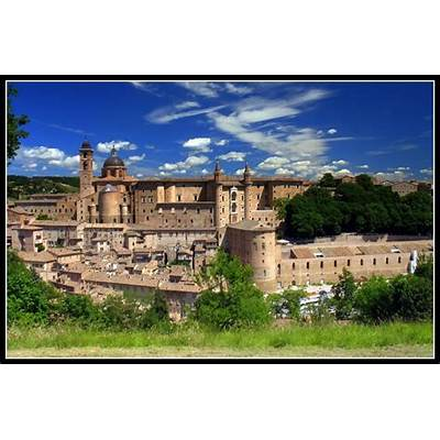 Urbino ItalyArchitecture and Historical Buildings
