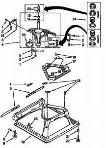 Machine Base Diagram  U0026 Parts List For Model 11026832692