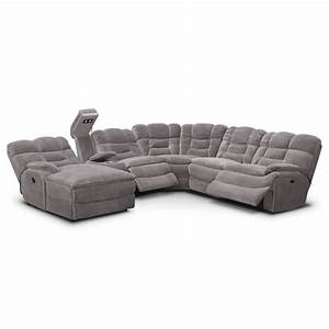 value city furniture recliner sofas best furniture 2017 With gray sectional sofa value city
