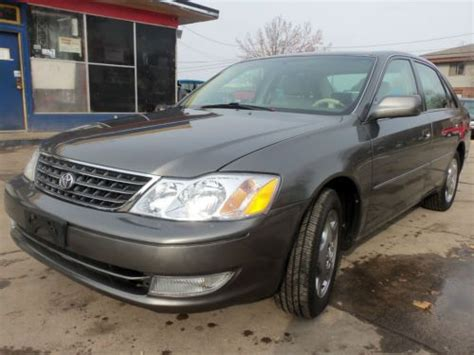 2004 Toyota Avalon Xls by Purchase Used 2004 Toyota Avalon Xls Sedan 4 Door 3 0l In