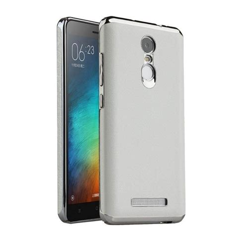 Hardcase Chrome Xiaomi Redmi 3 vaku 174 xiaomi redmi note 3 lexzo protection chrome