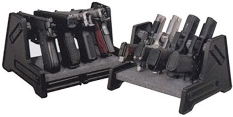 Stack On Security Cabinet Accessories by Stack On Deluxe 4 Position Pistol Rack Spapr 1504 Gun