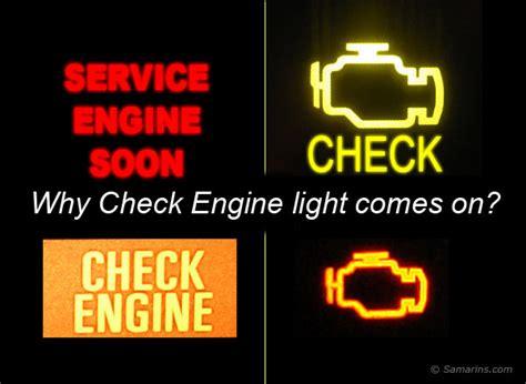 engine light came on tips info