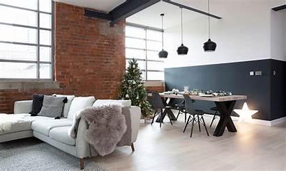 Warehouse Apartment Minimalist Manchester Around Scandi