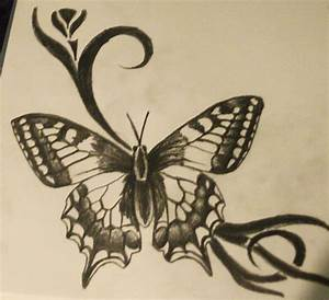 Butterfly Sketches For Tattoos | www.imgkid.com - The ...