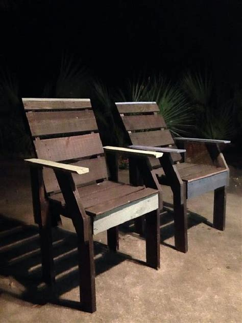 handmade shipping pallet chair projects pallets designs