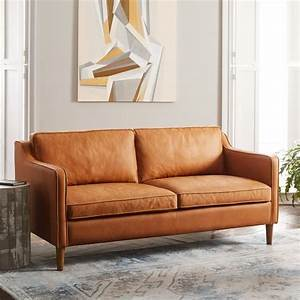 hamilton leather sofa hamilton 2 piece leather chaise With west elm sectional sofa leather