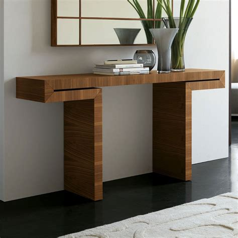 oak dining table stylish and modern narrow console table babytimeexpo