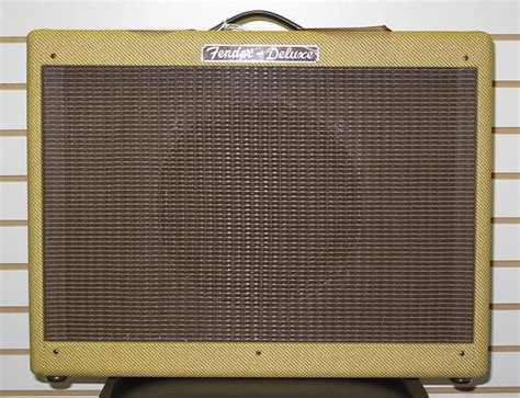 fender rod deluxe 112 cabinet tweed oxblood reverb