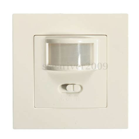 2in1 manual on off auto infrared pir motion sensor switch