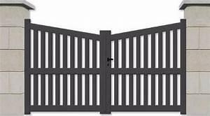 Portail Sur Mesure Castorama : portail alu battant biais la qualit sur mesure bas prix ~ Carolinahurricanesstore.com Idées de Décoration