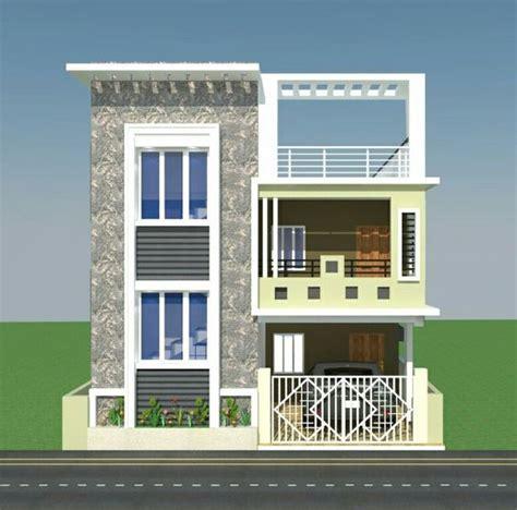 floor elevation duplex house design independent