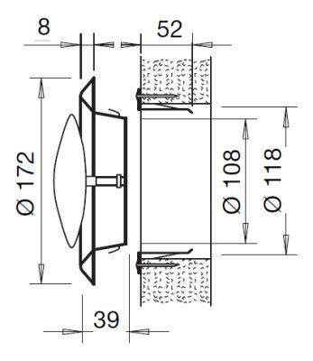 bouche aeration cuisine bouches vmc d 39 aération distribution d 39 air prosp 39 air