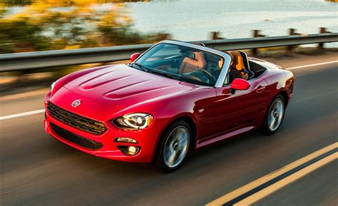 Who Makes The Fiat by 2017 Fiat 124 Spider Drive Review Car And Driver