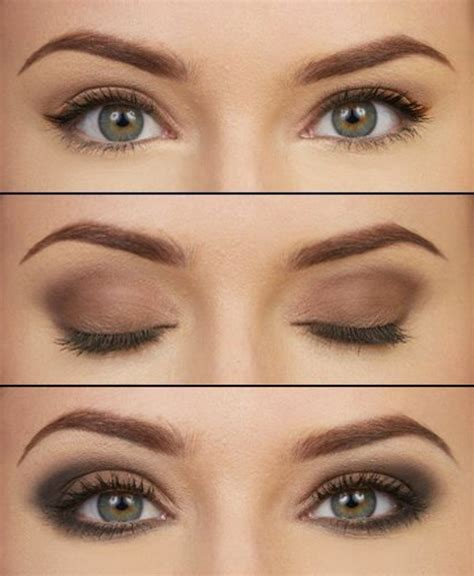 Maquillage Simple Yeux Marrons Le Maquillage Pour Yeux Marron 51 Id 233 Es En Photos Et Vid 233 Os