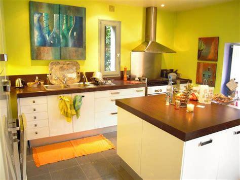 deco cuisine orange decoration cuisine jaune orange