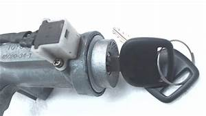 Toyota T100 Ignition Switch Housing With Key Starter