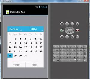 Html Kalender Code : calendar application in android free source code tutorials and articles ~ Markanthonyermac.com Haus und Dekorationen