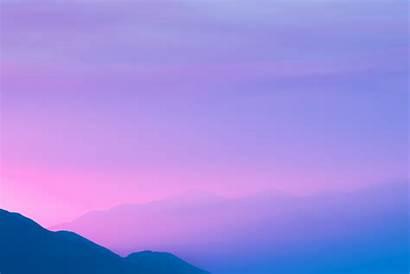 Purple Sky Mountains Landscape Nature Desktop Backgrounds