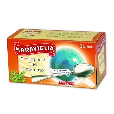 Morning Time Tea Deteinato 25 Filtri Cucchiaino Ristora