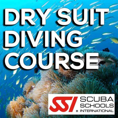 ssi  dry suit diving  scuba shop
