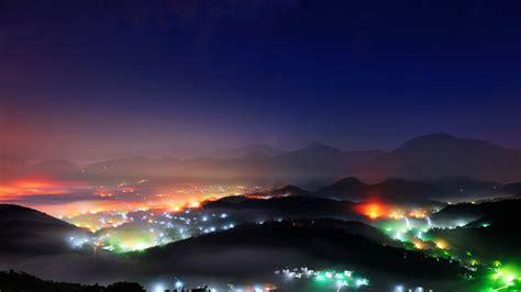 Night View Wu Town Bing Wallpaper Download