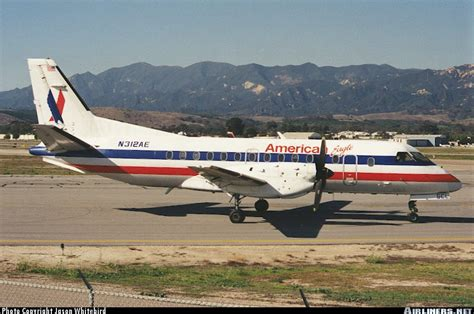 Saab 340 Plane