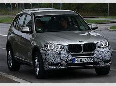 Spyshots BMW F25 X3 LCI Shows LED Headlights autoevolution