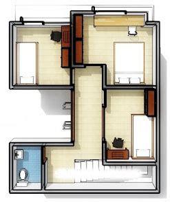 desain rumah minimalis  papan tulis solusi