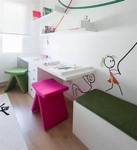 Schreibtisch Hocker Kinder : 29 kinder schreibtisch designs f r moderne kinderzimmer ~ Lizthompson.info Haus und Dekorationen
