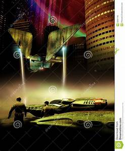 Far Planet City Stock Photo - Image: 35697790