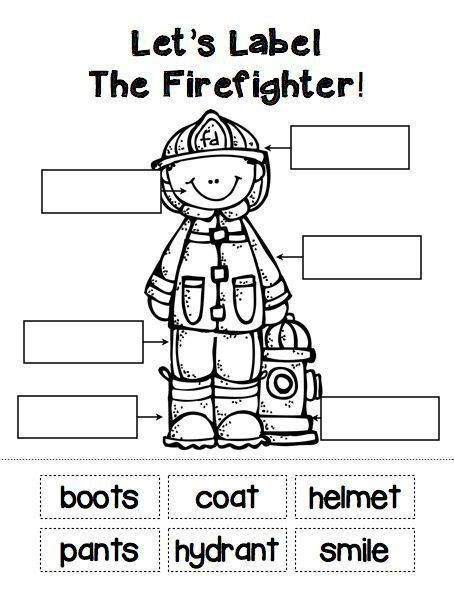 image result  letter   firefighter fire safety preschool community helpers theme