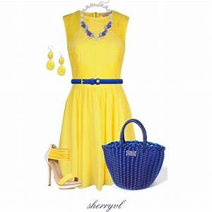 U0026quot;Style The Yellow Dressu0026quot; by sherryvl on Polyvore   Fashion it is......   Pinterest   Yellow ...