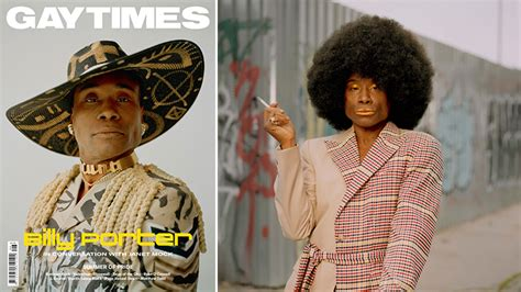 Billy Porter Speaks About Why Fashion Matters Much
