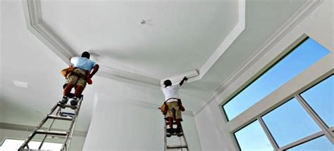 How To Paint A Tray Ceiling by How To Paint A Tray Ceiling Doityourself