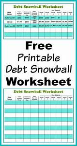 the ultimate list of budgeting printables from pinterest With budget template to pay off debt
