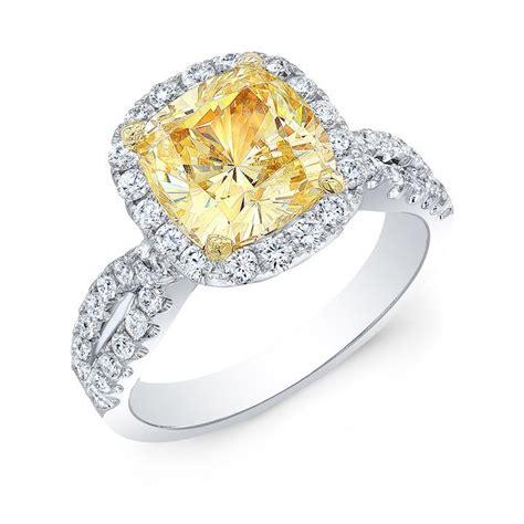 engagement ring from diamond mansion modwedding