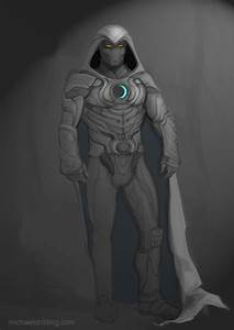 Moon Knight sketch by strib on DeviantArt