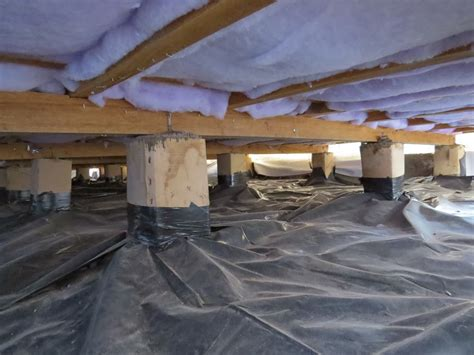 install floor insulation vapour barrier or underfloor insulation